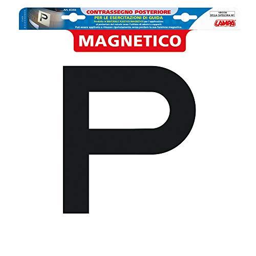 Lampa 65356 Contrassegno per esercitazioni Guida, Magnetico - Posteriore