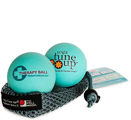 The Original Yoga Tune Up Therapy Balls By Jill Miller (Aqua Blue) by Jill Miller