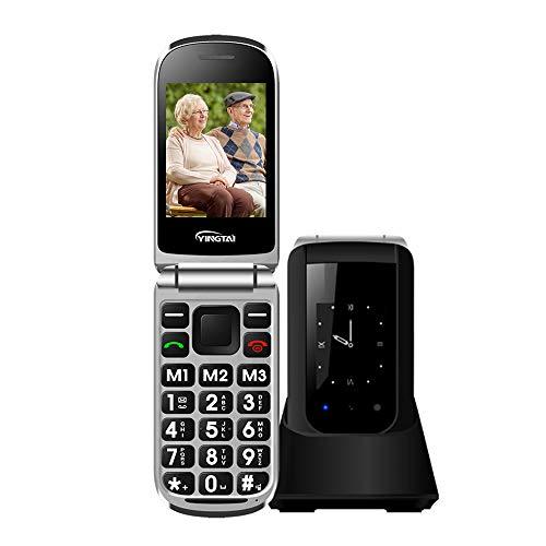Teléfono Móvil para Personas Mayores Teclas Grandes con...