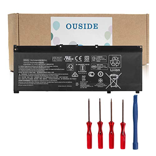 OUSIDE SR04XL Battery Replacement Compatible with for HP Omen 15-CE000 Pavilion Power 15T-CB2000 Series Notebook HSTNN-DB7W HSTNN-IB7Z 917678-1B1 Laptop Battery
