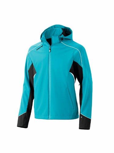 erima Herren Jacke Softshell Jacket Function Style, Benzin / Schwarz / Weiß, XXL, 906123