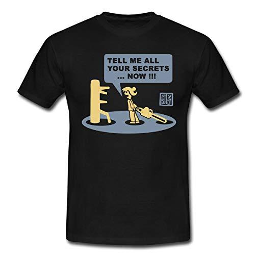 Chainsaw Dummy Männer T-Shirt, L, Schwarz