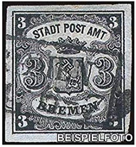 Goldhahn Bremen Nr. 1 gestempelt Briefmarken für Sammler