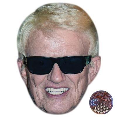 Celebrity Cutouts Heino Maske aus Karton