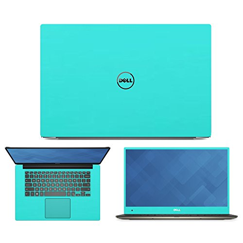 """Mint Green Skin Decal wrap Skin Case for Dell XPS 9550 15 15.6"""" Laptop"""