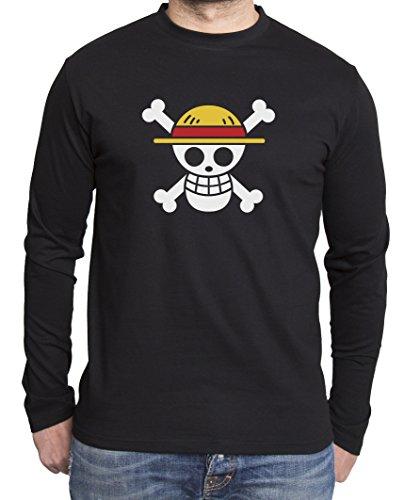 Sambosa - T-Shirt à Manches Longues - Homme - Noir - S