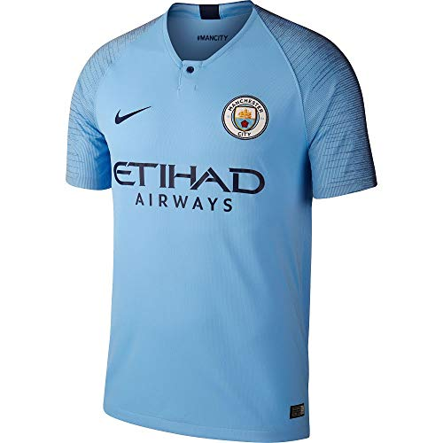 NIKE Men's Soccer Manchester City Home Jersey (Large)
