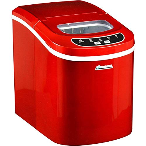 Avalon Bay AB-ICE26R Ice Maker, Red