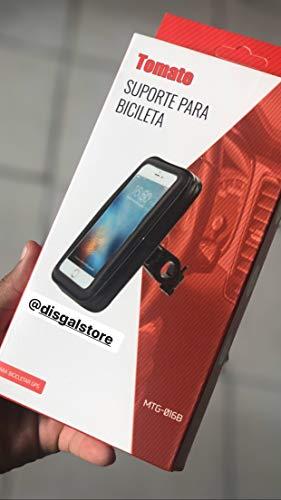 Bolsa Prova D'agua Capa Com Suporte Para Gps Celular Moto Bike