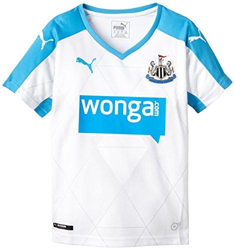 PUMA para Hombre Camiseta de fútbol réplica de la Camiseta del Newcastle Alternativo Blanco White, Hawaiian Ocean Talla:164