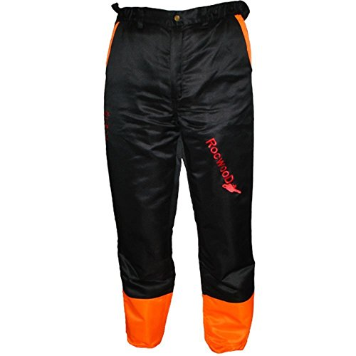 RocwooD Chainsaw Protection Safety Trousers Type A, Size M, Medium 32' - 34' Waist