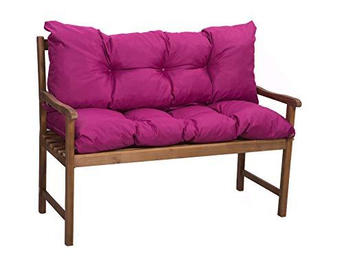 Bankkissen Sitzkissen günstig  gartenkissen  Outdoor sitzkissen   Hollywoodschaukeln-Kissen   sitzkissen Outdoor   sitzkissen Bank (rosa, sitzkissen:180x50+rückenkissen:180x40cm)