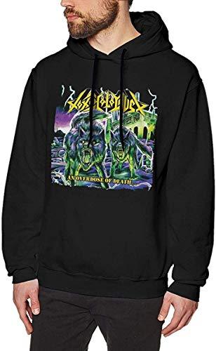 Men's Novelty Hoodies Activewear Top Hoodies Men's Hoody Toxic Holocaust Cool Mens Long Sleeve Sweatshirts Mans Hoodies Black S