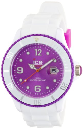 Ice-Watch Ice-White SI.WV.B.S.11 - Reloj de Cuarzo Unisex, Correa de Silicona Color Blanco