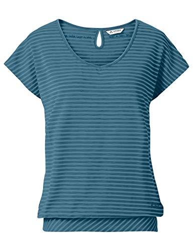 VAUDE Damen T-Shirt Womens Skomer T-Shirt II, Blue Gray, 38, 40385
