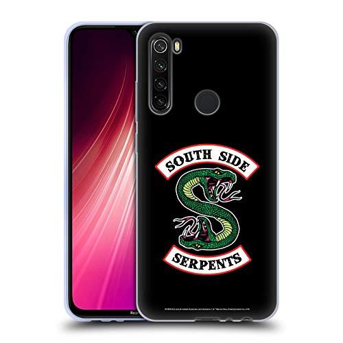 Head Case Designs Oficial Riverdale Serpientes del Lado Sur Arte Gráfico Carcasa de Gel de Silicona Compatible con Xiaomi Redmi Note 8T
