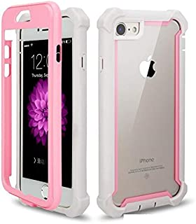 RAMEER Protector Funda Case Uso Rudo iPhone 6 6s 6 Plus 7 8 7 Plus 8 Plus X XS XR XS MAX 11 Pro MAX Frame (iPhone 7 Plus /...