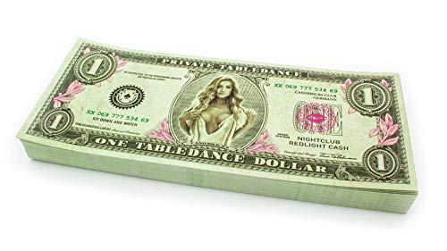Cashbricks 100 x $1 Table Dance Dollar