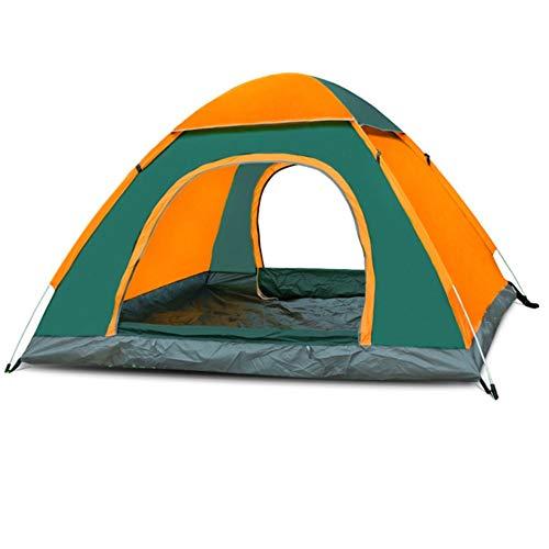De kampeertent van de familie kan ten minste 3 tot 4 volwassenen automatische pop-up waterdichte pop-up-tent, waterdicht, draagbaar, uv-bestendig, picknick vissen