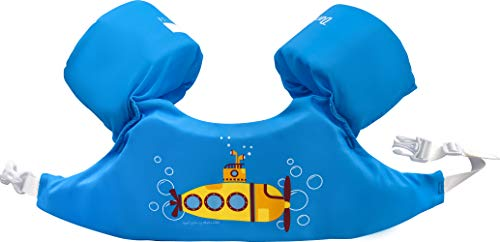 Dark Lightning Kids Pool Floats for 1-6, Swim Vest with Water Wings for 30-50 Pounds Boys and Girls, Best Toddlers Life Jacket Floatation in Puddle/Beach, Be A Jumper