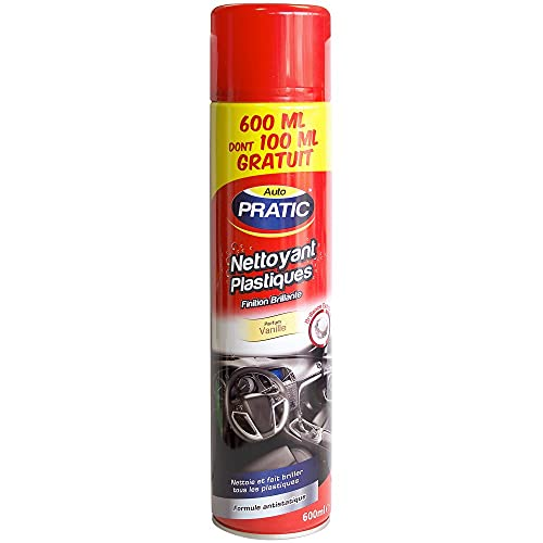 Auto-Pratic Nettoyant Plastiques Vanille 600ml