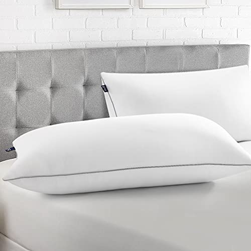 BedStory Kopfkissen 40x80, Kissen 2er Set aus Hochwertigen Mirkofarsen Füllung 950gx2, Effektive Unterstützung für Alle Schlafpositionen,Bequmer Weicher und Atmungsaktiver Kissen