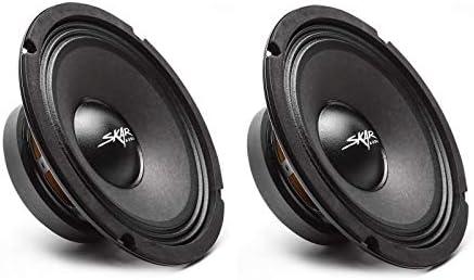 2 Skar Audio FSX8 8 350 Watt 8 Inch 8 Ohm MID Range Loudspeakers 2 Speakers product image