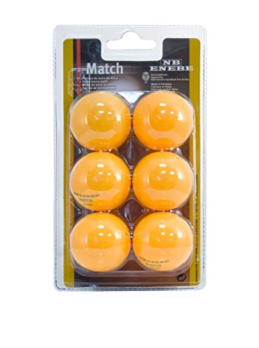 Enebe Pelotas Tenis Mesa Match 40 mm Blister 6-NA