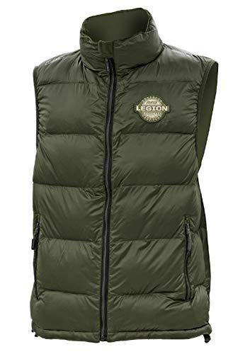 Mad Bivvy Zone Thermo Lite Vest, maat XXXL, donkergroen, ultralicht vest, 51780