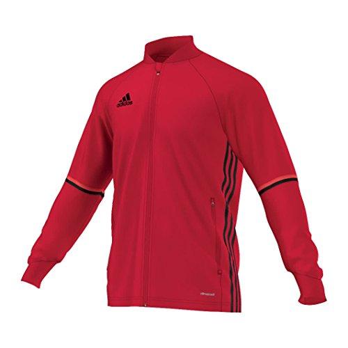 adidas Con16 Trg Jkt Chaqueta, Hombre, Rojo (Escarl/Negro), L