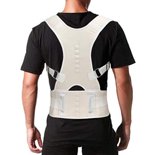 CHENSTAR Corrector de postura para hombres y mujeres, entrenador de postura transpirable ajustable, corrector de espalda eficaz para aliviar el dolor de espalda/pecho/cuello/hombros