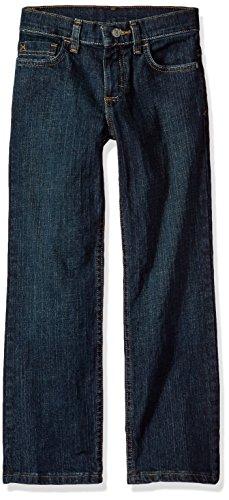 Wrangler Authentics Boys' Straight Fit Stretch Jean, moonlight blue, 16
