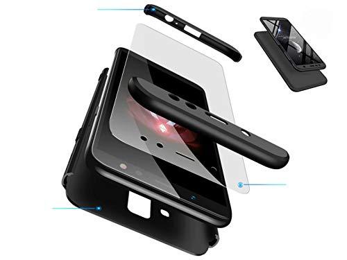 Funda Huawei Honor 8X, DYGG Compatible con Carcasa Protección de 360 Grados Case Cover Caso para Huawei Honor 8X+ Protector de Pantalla-Negro