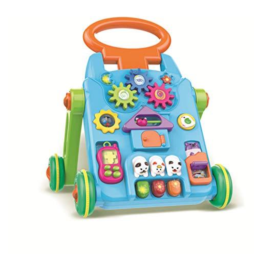 Meen Trotteurs, Early Learning Puzzle Poussette Multifonctionnelle Baby Walker 0-2 Ans Bébé Jouets