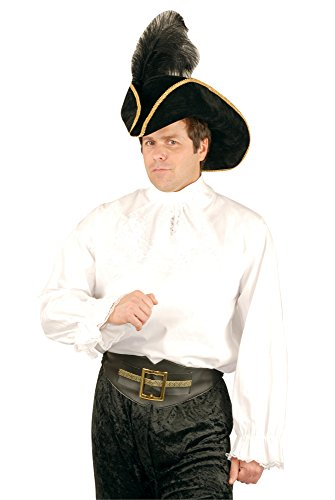 Charades Men's Cotton Costume Pirate or Vampire Shirt, X-Large