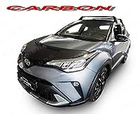 AB3-00484 カーボンファイバーの外観 ボンネットプロテクター Carbon Bonnet Bra Toyota C-HR トヨタ・C-HR (2017年 -) Hood Bra フードガードブラ (バグガード)