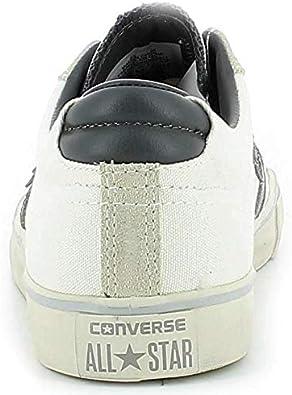 Converse PRO Leather Vulc Distressed Scarpe Tela Bianche : Amazon ...