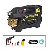 Aimex Hevay Duty 1800W Electric High Pressure Washer with Copper Winding with Hose Pipe and Foam Bottle