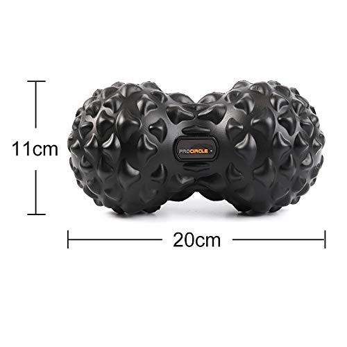 New PU Fitness Ball Therapy Massage Balls Peanut Lacrosse Mobility Ball Deep Tissue for Myofascial R...