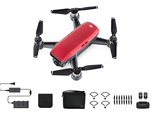 Price comparison product image DJI Spark,  Fly More Combo,  Lava Red
