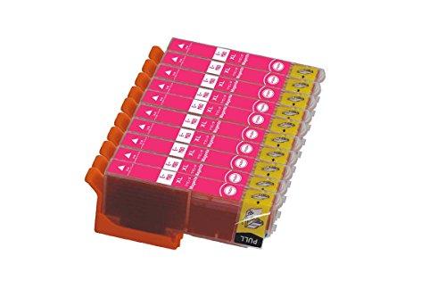 EPSON エプソン IC6CL80L 対応 ICM80L マゼンタ 単品10本セット 互換インクインクカートリッジ 増量タイプ ICチップ付き 残量表示機能付