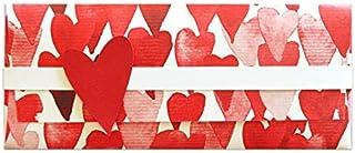 Porta soldi - love love love - cerimonie - busta portasoldi (formato 22 x 9,5 cm) + biglietto d'auguri vuoto all'interno -...