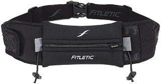 Fitletic cinturón de Running | Libre de Rebote Funda para Marathon único, triatlón, Ironman, Resistencia, Ciclismo, Trail, 10K, 5K | Patentado Ultimate II Race Cinturón