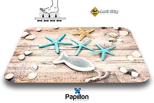 Papillon - Alfombrilla baño poliéster