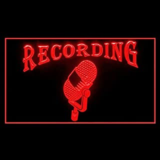 140006 Recording On The Air Radio Sitcom Media Studio Display LED Light Sign