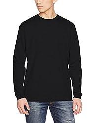 (ユナイテッドアスレ)UnitedAthle 5.6オンス 長袖Tシャツ(1.6インチリブ) 501101 [メンズ] 002 ブラック S