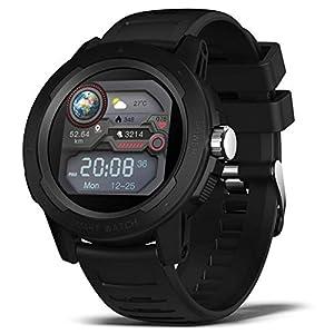 BingoFit Smartwatch Outdoor Sportuhr 2021 Trendy Design Wasserdichter Aktivitäts Tracker