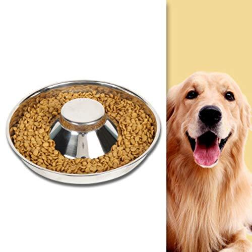 Ciotola per Cani Gatti,Pet Ciotole, Gatti Ciotola Portatile,Ciotole per Cani in Acciaio Inox,Ciotola per Acqua e Cibo, per Animale Domestico di Piccola e Media Taglia