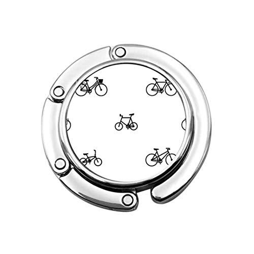 Rueda de Bicicleta Juego de Ciclismo Gancho Deportivo Colgador para Mesa Colgador de Monedero Mesa Diseños únicos Sección Plegable
