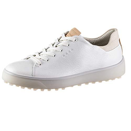 ECCO Women's Tray Golf Shoe, Bright White, 5 UK